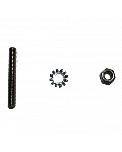 Volume Adjustment Set Screw, Nut, and Star Washer